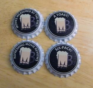 MovieBoozer, MovieBoozer Bottlecaps, MovieBoozer Beer