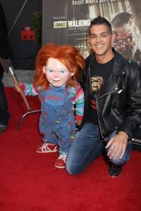 Don Mancini and Chucky